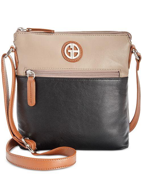 8d29a10302 ... Giani Bernini Colorblock Nappa Leather Crossbody