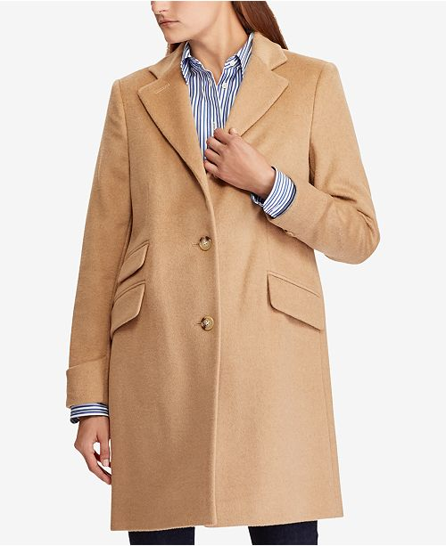 speical offer structural disablities first rate Petite Reefer Coat, Created for Macy's