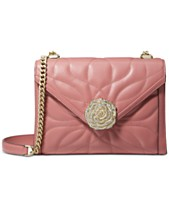 16aac42fb1e9 MICHAEL Michael Kors Whitney Petal Quilted Leather Shoulder Bag
