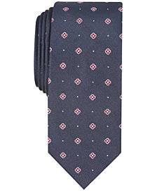 Bar III Men's Wyndmoor Mini Skinny Tie, Created for Macy's