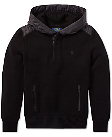 Polo Ralph Lauren Big Boys Hybrid Hooded Sweater