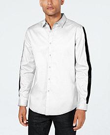 INC Men's Velvet Stripe Shirt, Created for Macy's