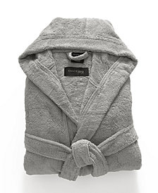 Kassatex Contempo 100% Turkish Cotton Hooded Bath Robe