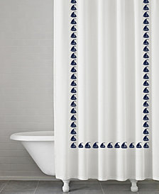 Kassatex Grand Haven 100% Cotton Shower Curtain