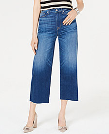 Hudson Jeans Holly Cropped Wide-Leg Jeans