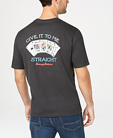 Tommy Bahama Men's Give It To Me Straight Graphic T-Shirt