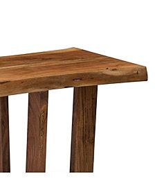 "Berkshire Natural Live Edge Wood 48"" Bench"