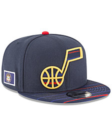 New Era Utah Jazz City Flag 9FIFTY Snapback Cap