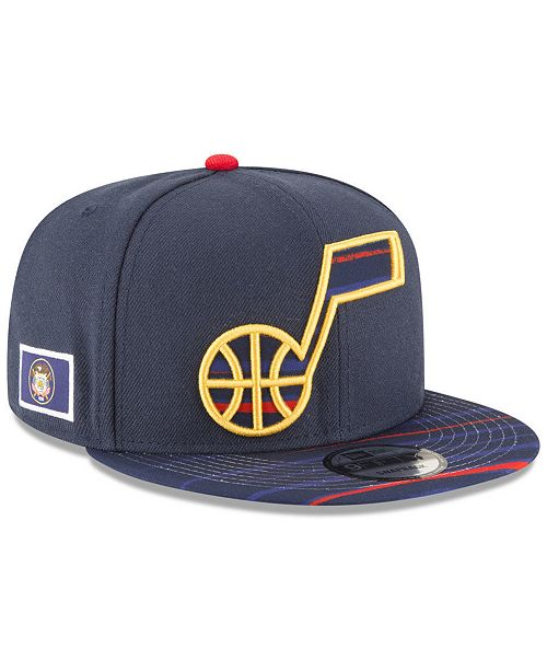 New Era Utah Jazz City Flag 9FIFTY Snapback Cap - Sports Fan Shop By ... 2ce0f0186926