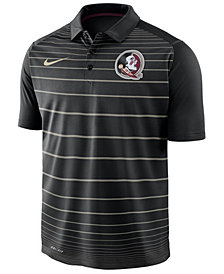 Nike Men's Florida State Seminoles Striped Polo