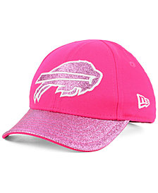 New Era Girls' Buffalo Bills Shimmer Shine Adjustable Cap