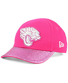 New Era Girls' Jacksonville Jaguars Shimmer Shine Adjustable Cap