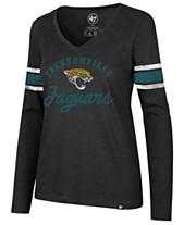 47 Brand Women s Jacksonville Jaguars Spirit Script Long Sleeve T-Shirt 8d0050678