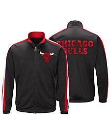 G-III Sports Men's Chicago Bulls The Challenger Starter Track Jacket