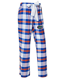 Concepts Sport Women's Florida Gators Homestretch Flannel Pajama Pants