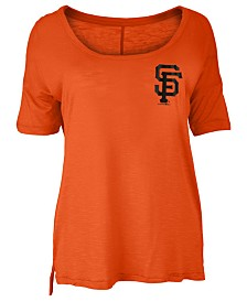 5th & Ocean Women's San Francisco Giants Relaxed Scoop T-Shirt
