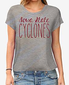 Retro Brand Women's Iowa State Cyclones Rayon Vintage T-Shirt