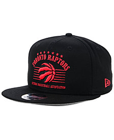 New Era Toronto Raptors Retro Arch 9FIFTY Snapback Cap