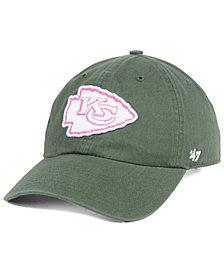 '47 Brand Women's Kansas City Chiefs Moss Glitta CLEAN UP Strapback Cap