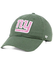 '47 Brand Women's New York Giants Moss Glitta CLEAN UP Cap