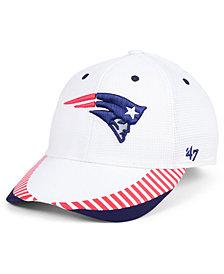 '47 Brand New England Patriots Tantrum Contender Flex Cap