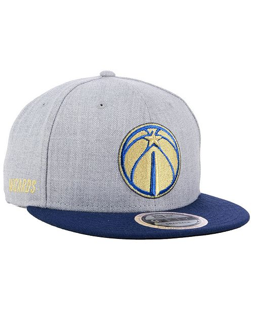 quality design 91d86 37619 ... New Era Washington Wizards Heather Metallic 9FIFTY Snapback Cap ...