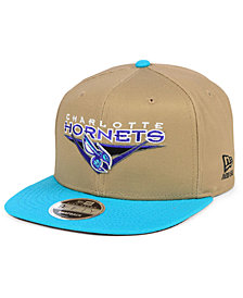 New Era Charlotte Hornets Jack Knife 9FIFTY Snapback Cap