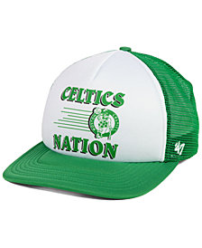 '47 Brand Boston Celtics Region Mesh MVP Cap