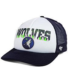'47 Brand Minnesota Timberwolves Region Mesh MVP Cap