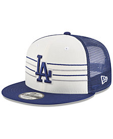 New Era Los Angeles Dodgers Vintage Stripe 9FIFTY Snapback Cap