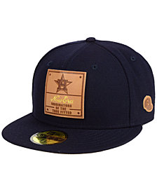 New Era Houston Astros Vintage Team Color 59FIFTY Fitted Cap