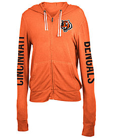 5th & Ocean Women's Cincinnati Bengals Hooded Sweatshirt