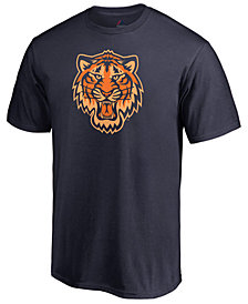Majestic Men's Detroit Tigers Players Weekend Logo T-Shirt
