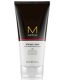 Mitch Steady Grip Firm Hold/Natural Shine Gel, 5.1-oz., from PUREBEAUTY Salon & Spa