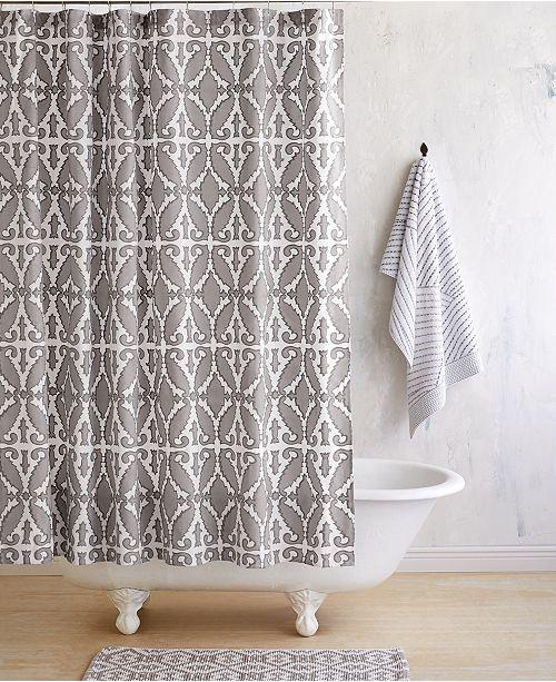 John Robshaw Khoma Shower Curtain