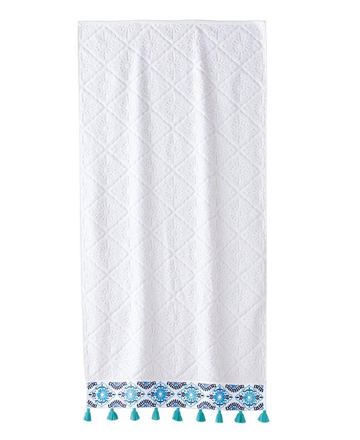 John Robshaw - Aloka Bath Towel Teal