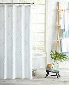 Peri Homeworks Lattice Shower Curtain