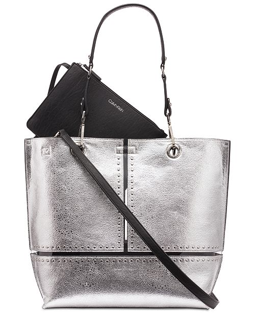 bd820b76611 Calvin Klein Studded Sonoma Tote & Reviews - Handbags ...