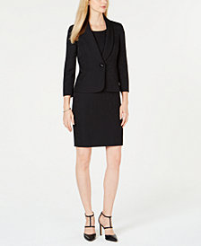 Le Suit Single-Button Jacquard Jacket & Dress