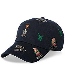8b32b308da28 Polo Ralph Lauren Men s Polo Bear Sports Cap