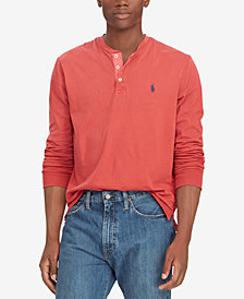 Polo Ralph Lauren Men's Cotton Jersey Henley Shirt