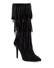 Jessica Simpson Linko Fringe Tall Dress Boots