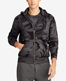 Polo Ralph Lauren Men's Big & Tall Camouflage Fleece Hoodie