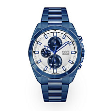 Men's ESQ0135 Blue IP Stainless Steel Chronograph Bracelet Watch