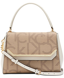 Calvin Klein Signature Tessie Satchel
