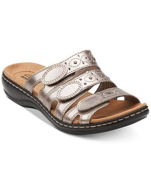 8892c68c21c0 Clarks Collection Women s Leisa Cacti Q Flat Sandals   Reviews ...