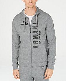 A|X Armani Exchange Men's NYC Graphic Front-Zip Hoodie