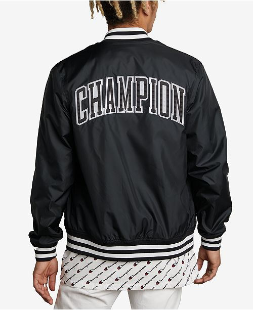 ac6897fae51 Champion Men s Satin Baseball Jacket   Reviews - Coats   Jackets ...