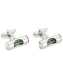 the Gift Men's Stone Cuff Links