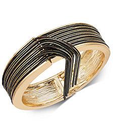 Thalia Sodi Gold-Tone Multi-Chain Bangle Bracelet, Created for Macy's